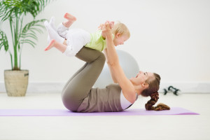mum and baby pilates